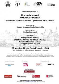 26.09.2014 - Concert in Warsaw